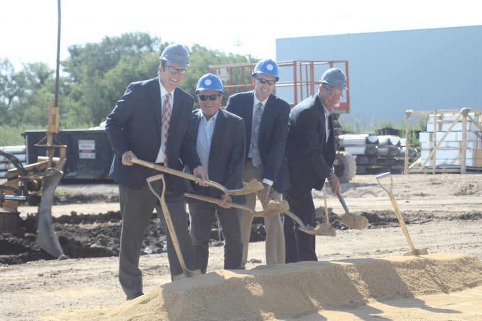 Meridian Breaks Ground on New 50,000 SF Facility